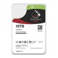 Hard Disk Drive Seagate IronWolf 3.5'' HDD 10TB 7200RPM SATA 6Gb/s 256MB | ST10000VN0008